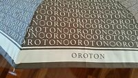 Oroton Signature Toupe / Cream Small And Compact Design Push Button Open