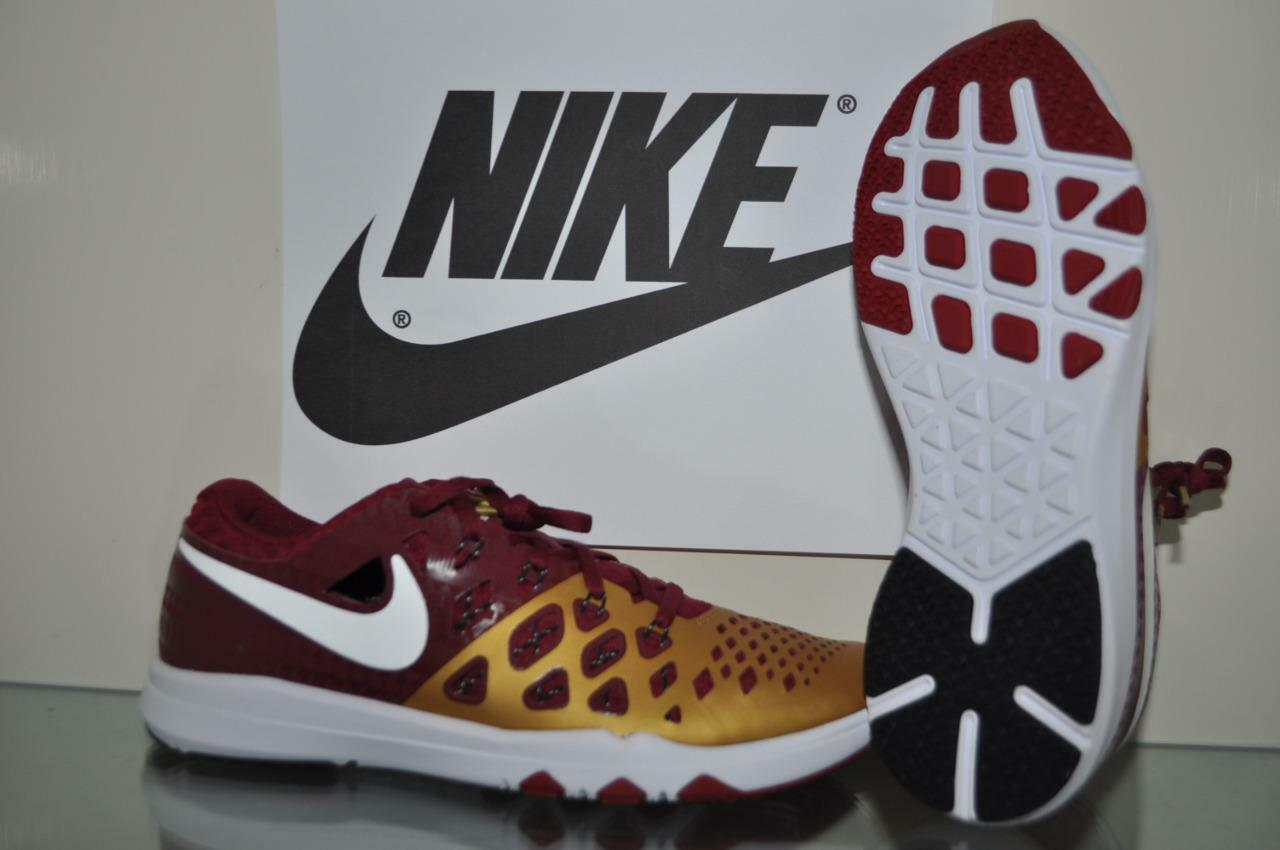 Florida State Seminoles Nike Train Speed 4.0 AMP Training Shoes 844102 617 NEW