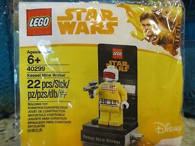 LEGO® Star Wars POLYBAG 40300 HAN SOLO™ MUDTROOPER 40299 KESSEL MINE WORKER