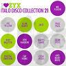 CD Zyx Italo Disco Collection Vol. 21 di Various Artists 3CDs