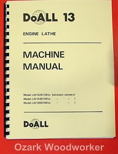 image is loading doall-romi-13-inch-metal-lathe-operating-amp-
