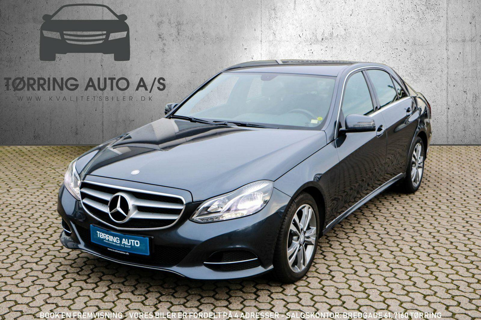 Mercedes E220 2,2 BlueTEC aut. 4d - 364.900 kr.