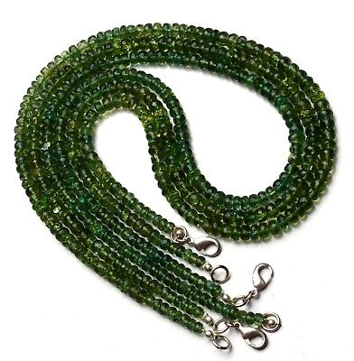 4-4.5mm WHOLESALE 5 Strands Green Apatite Beads Green Apatite Plain Round Beads RAMA139 Green Apatite Necklace