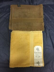 2-Ralph-Lauren-Classic-Bath-Shower-Towel-100-Supima-Cotton-30-034-X58-034-Made-in-USA