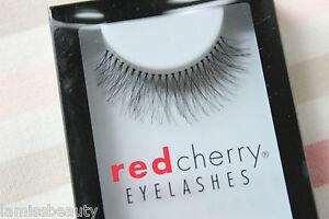 Red-Cherry-BIRMINGHAM-747-M-Medium-falsche-kuenstliche-Wimpern-strip-lash