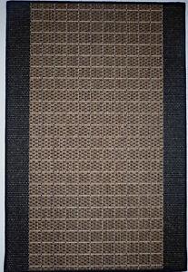 Teppichlaeufer-Flachgewebe-Braun-B-80-x-L-250-cm-Kuechenlaeufer-Rutschfest-Diele