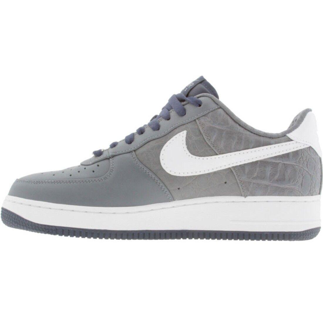 ba206dc268226e 315180-011 Nike Air Force 1 07 Low Premium Flint Grey Grey Grey White  Stealth ...