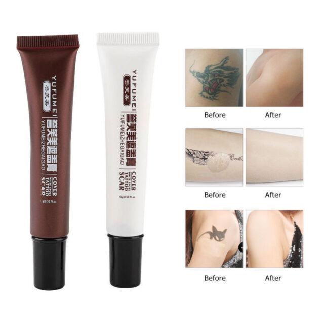 2x Tattoo Fading Cream Cover up Skin Scar Removal Birthmark ...