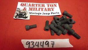 "STK4 US ARMY Decal 2/"" Original NOS Surplus Fits Willys Jeep M38 M38A1 M151"