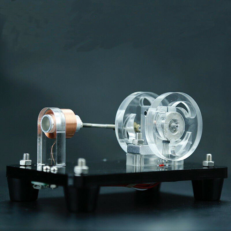 Reciprocating Hall Motor High-speed Magnetic Motor DIY TOYS
