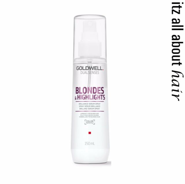 Goldwell Blondes & Highlights Anti Brassiness Shine Serum Spray