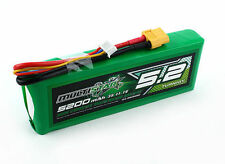 Multistar 5200mAh 3S 11.1v 10C Lipo Battery XT60 XT-60 High Capacity Multi-rotor