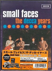 SMALL-FACES-THE-DECCA-YEARS-JAPAN-5-CD-BOOK-Ltd-Ed-Z25