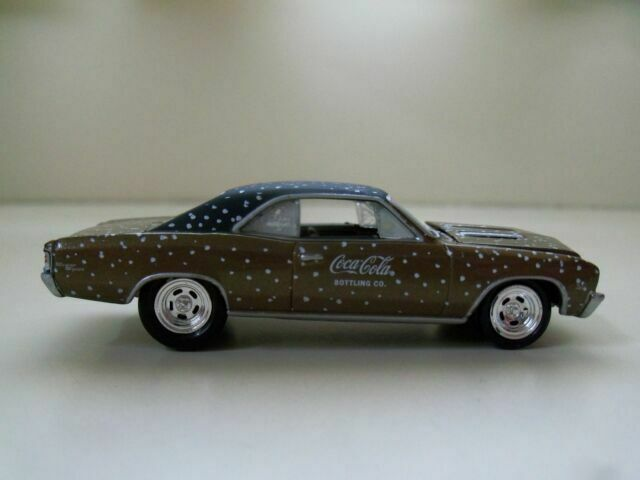 Coca-Cola Johnny Lightning Limited Edition Winter 2008 /'67 Chevy Impala SS 396