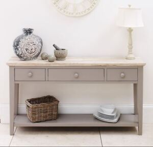 hallway console table. Image Is Loading FLORENCE-Dove-Grey-Console-Table-kitchen-hallway-console- Hallway Console Table EBay