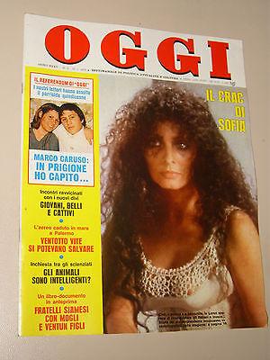 OGGI=1979/2=SOPHIA LOREN=LINA WERTMULLER FILM=MARCONI PATRIZI POSSE MATTEI=
