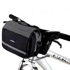 Bike Bicycle Cycling Outdoor Front Basket Pannier Frame Tube Handlebar Bag LAUS