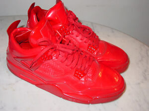 purchase cheap 5771f 26d79 Image is loading 2015-Nike-Air-Jordan-Retro-4-11LAB4-Patent-