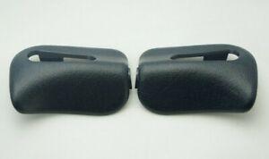 For Mercedes R129 SL320 SL500 SL600 Left /& Right Black Sun Visor Trim Cap Pair