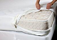 A+ Bed Bug Encasement Protector Soft Luxurious Zippered Mattress Or Pillow Saver