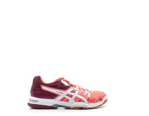 tissu 0601 s rose ball B455n Femme Asics Chaussures volley q0XX1