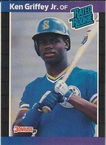 Details About 1989 Donruss Ken Griffey Jr Rookie Card 33 Nr Mintmint