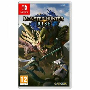 MONSTER HUNTER RISE SWITCH JUEGO FÍSICO PARA NINTENDO SWITCH