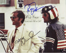 EASY RIDER CAST AUTOGRAPH SIGNED PP PHOTO POSTER
