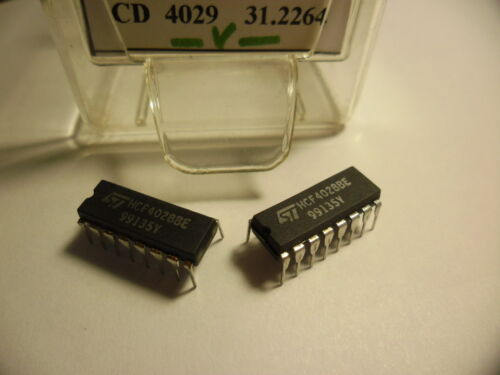 HCF4028BE.ST. .CD4028. 2pcs
