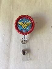 Wonder Woman Retractable Reel ID Badge Holder