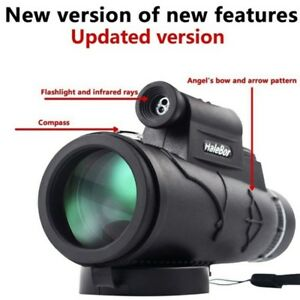 New-Day-amp-Night-Vision-50X60-HD-Optical-Monocular-Hunting-Camping-Hiking-Telescope