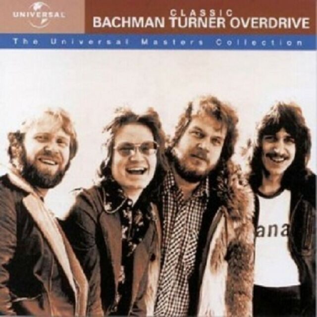 BACHMAN-TURNER OVERDRIVE - UNIVERSAL MASTERS COLLECTION  CD  ROCK BEST OF  NEU