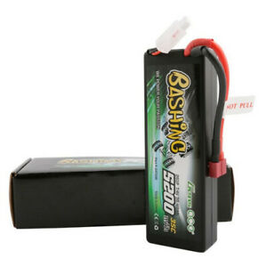 Gens-ace-5200mAh-35C-7-4V-2S-Lipo-Battery-Hardcase-Deans-T-Plug-For-RC-Car-Truck