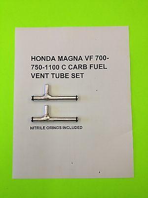 1983-6  CNC HONDA MAGNA SABRE VF 700-750 VF 1100  SET OF CARB FUEL GAS TUBES