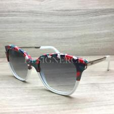 25746594171 Fendi FF 0089 S 0089 Sunglasses White Red Havana Palladium CTQDG Authentic  52mm