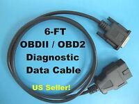 Obd2 Obdii Can Cable For Bosch Obd 1300 Obd1300 Scanner Code Reader Scan Tool