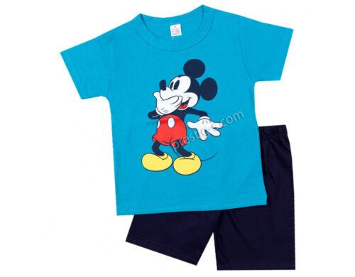 Baby Junge Pyjama 100/% Baumwolle Kurzarm Nachtwäsche Pyjama Set Schlafanzug Paw
