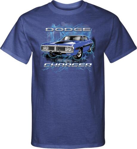 Blue Dodge Charger Tall T-shirt