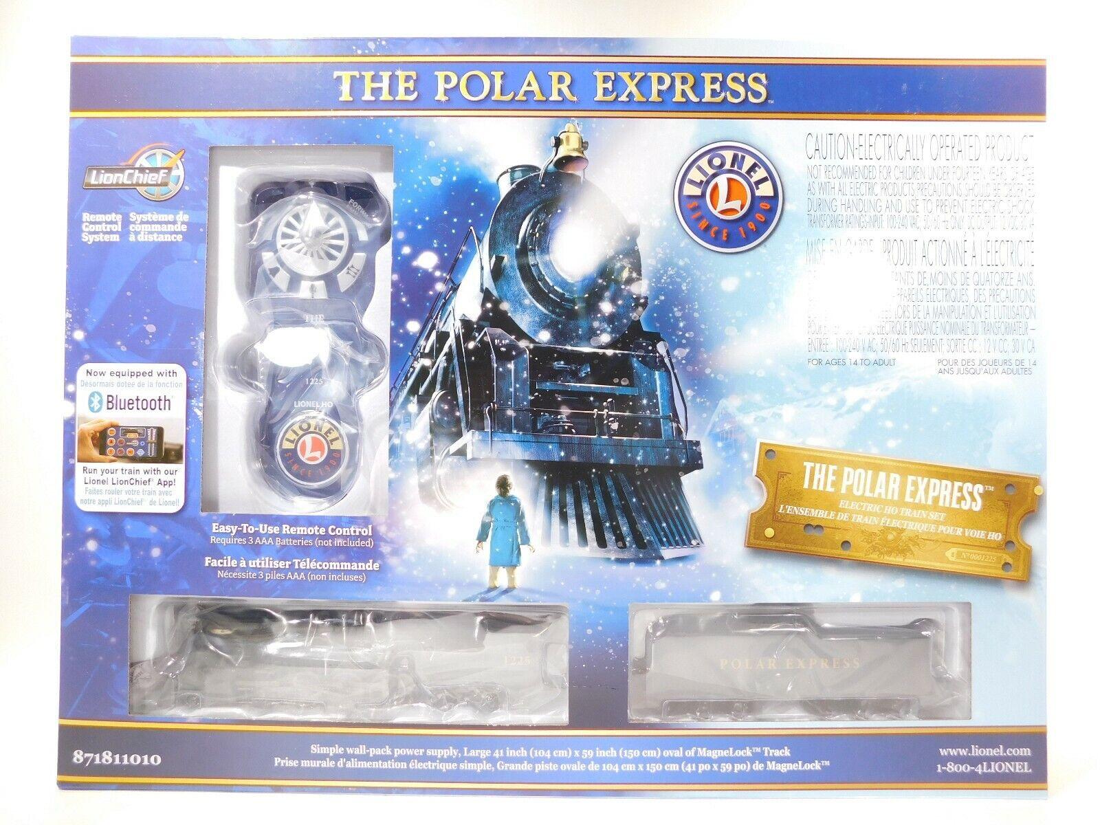 Lionel Nuovo di zecca il Polar Express HO Set  871811010  TOTES 1