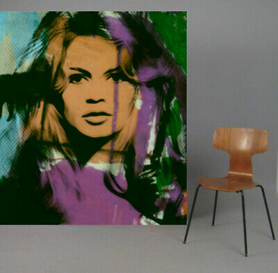 Motiv Brigitte Bardot Summer Splash PopArt//Malerei//StreetArt//Leinwand//Kunstdruck