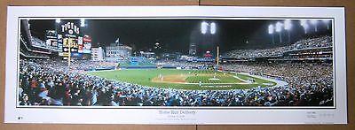 Detroit Tigers Magglio Ordonez Historic 2006 Home Run HR ACLS  Panoramic LG