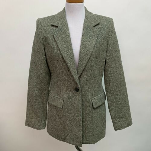 Saks Fifth Avenue Folio Collection Tweed Blazer 10