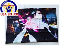 Bleach Anime Kuchiki Byakuya Bankai Senbonzakura Queen Dakimakura Pillow Case