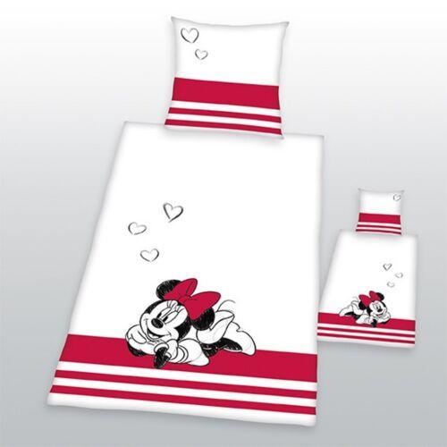 Herding  Bettwäsche Disney/'s Minnie Mouse 80 x 80 cm Partnerbettwäsche 135