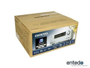 Onkyo-TX-NR696-7-2-Heimkino-AV-Receiver-Verstaerker-THX-HDR10-4K-Atmos-Silber