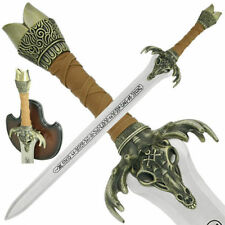 """Replica 39"""" Conan the Barbarian Medieval Viking Father Sword with Display Plaque"""