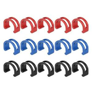 Risk-5pcs-Bike-Bicycle-MTB-C-Clips-Buckle-Hose-Brake-Gear-Cable-Housing-Guide