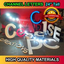 Outdoor Led Signs 24 Channel Sign Letters Superior Quality Made In The Us