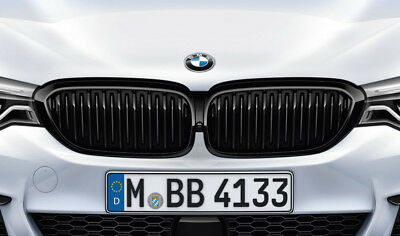 **AKTION** SALBERK Nieren schwarz hochglänzend BMW 5er G31 Touring  3003DLF