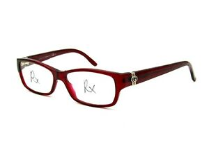 Gucci GG 3573 Women's Eyeglasses Frame, E67 Burgundy Red. 52-17-135 Italy #Y63